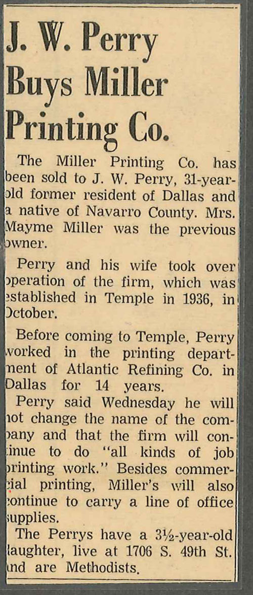 Temple Daily Telegram, 1962